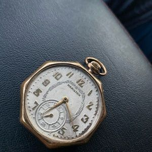 Hamilton Accessories - Hamilton 17j 12s Pocket Watch